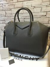 GIVENCHY  GENUINE HANDBAG  TOTE ANTIGONA HAMMERED  DEEP GREY MEDIUM PURSE TASCHE