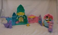 Little People DISNEY ARIEL'S UNDERSEA CASTLE Little Mermaid Playset + Coach