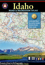 National Geographic Benchmark Idaho Road & Recreation Atlas Map BE0BENIDAT