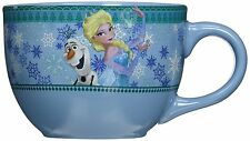 Disney Frozen Olaf and Elsa 24oz. Ceramic Soup Mug