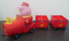 Peppa Pig Grandpa pigs royal train with sounds and peppa pig figure