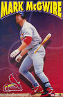 POSTER: MLB BASEBALL : MARK McGWIRE - CARDINALS - FREE SHIP #5129 RAP134 B