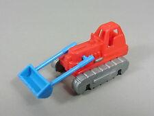 AUTO: Véhicules à chenilles (2. Série) - Chargeur frontal (rouge/bleu)