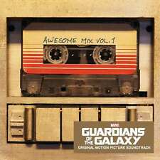 GUARDIANS OF THE GALAXY : AWESOME MIX VOL. 1 ( NEW SEALED CD ) FILM SOUNDTRACK )