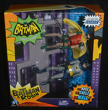 BATMAN & ROBIN Climbing Wall Classic TV Series Action Playset Mattel MIP Rare!
