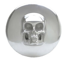 "Skull Air Cleaner Cover Harley-Davidson 8"" Round EVO Big Twin Polished"
