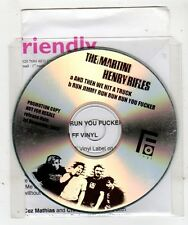 (GE166) The Martini Henry Rifles, And Then We Hit A Truck - 2003 DJ CD