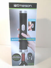 Emerson Automatic Wine Opener Electronic Easy Single Button Design