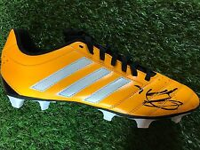 ROBIN VAN PERSIE HAND SIGNED FOOTBALL BOOT MANCHESTER UNITED, HOLLAND PROOF 3.
