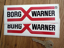 BORG WARNER alter stil rallye rennen sticker MG Jaguar usw.