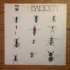 Syd Barrett ‎– Barrett LP Vinyl OG UK PRESS Harvest SHSP 4007 Pink Floyd RARE