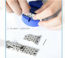 Watch Bracelet Chain Tool Band Slit Strap Pin Adjuster Repair Tools Link Remover