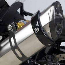 R&G 'SUPERMOTO STYLE' EXHAUST CAN PROTECTOR for TRIUMPH TIGER 800XRX, 2015 on