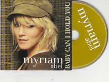 CD CARDSLEEVE MYRIAM ABEL 3T BABY CAN I HOLD YOU ECRIT PAR TRACY CHAPMAN TBE