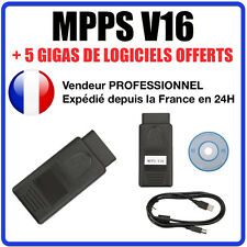 OBD2 MPPS V16.1.02 ECU Chip Tuning interface for EDC15 EDC16 EDC17 MED9.x,PPD1/x