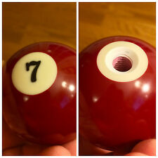 #7 seven POOL BILLIARD BALL GEAR SHIFTER SHIFT KNOB  jeep car truck