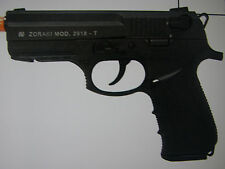 Zoraki M2918 9mm Semi Auto Movie Stage Prop Gun Pistol FRONT VENT Black