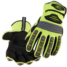 Black Stallion Hi-Vis Spandex Extreme Winter Work Gloves Medium 23174