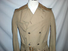Pierre Cardin Made in Paris France men's trench overcoat coat m  vintage 38 40