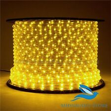 Yellow Rope Light Waterproof Led Neon Light for festival-32 Feet