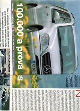 SP73 Clipping-Ritaglio 2002 Mercedes ML 270 CDI