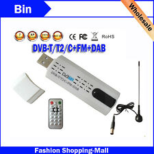 Digital Satellite DVB t2 USB TV Stick HD TV for dvb-t2/dvb-c/fm/dab,
