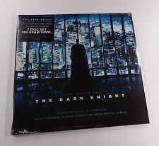 THE DARK KNIGHT Soundtrack 2xLP BLACK VINYL *SEALED* hans zimmer batman begins