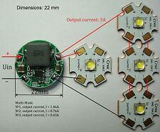 LED driver LDRADJ_22-3A, 3A, 12V, DC 8V-28V Multi-Mode,CREE XM-L2, XML, XHP50 6V