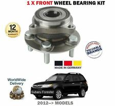 FOR SUBARU FORESTER 2.0DT 2.0i 2.5 2012-2014 NEW 1 X FRONT WHEEL BEARING HUB KIT