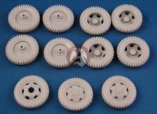 Tank Workshop 1/35 Studebaker US6 Corrected Wheels (11 pcs) (ICM 35511) 350066