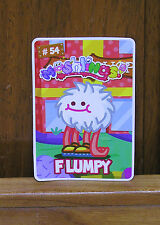 Moshi Monsters Flumpy Card New Unused code