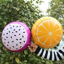 Summer Kids Love Fruit Balloons Aluminium Wedding Birthday Party Decor