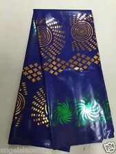 bazin riche brocade african lace fabric gold stampedin high quality 100% cotton
