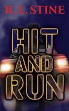 Hit and Run (Point Horror Series), R. L. Stine, Good Condition, Book