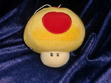 2006 BANPRESTO NINTENDO STUFFED PLUSH MAGIC MUSHROOM ORNAMENT REARVIEW MIRROR