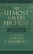 My Utmost for His Highest by Oswald Chambers (1992, Hardcover, Revised)