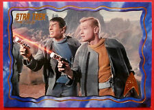 "STAR TREK TOS 50th Anniversary - ""THE CAGE"" - GOLD FOIL Chase Card #15"