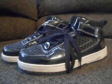 Mecca high top mens tennis shoes size 8.5, black, KYLE