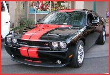 DODGE CHALLENGER T- RALLY STRIPE FACTORY WITH OUTLINE 3M / 2008 - 2014  DECAL