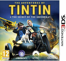 The Adventures of TinTin: The Secret of the Unicorn (Nintendo 3DS, 2011) -...