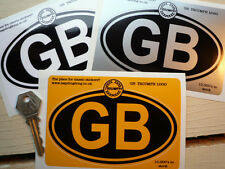 TRIUMPH logo GB oval car sticker 125mm Spitfire TR4 5 6 7 8 Dolomite 2.5pi etc
