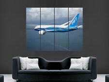 BOEING 787 DREAMLINER AEROPLANE GIANT WALL POSTER ART PICTURE PRINT LARGE HUGE