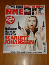 NME 2008 MAY 24 SCARLET JOHANSSON TING TINGS ESSER