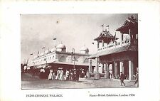 POSTCARD    EXHIBITIONS  FRANCO - BRITISH  1908  Indo  Chinese  Palace
