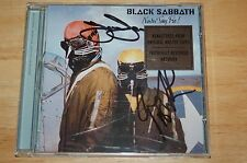 Black Sabbath - Never Say Die (Autographed import cd)