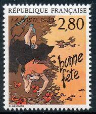 STAMP / TIMBRE FRANCE NEUF N° 2836 ** LE PLAISIR D'ECRIRE / BONNE FETE