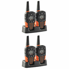 Cobra 35-Mile 22-Channel Walkie Talkie Radios, Refurbished CXT645 (4 Radios)