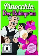 DVD Pinocchio und Der Rubinprinz  Bilderbuch DVD für Kinder ab 3 Jahren
