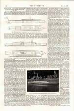 1898 Shipbuilding Marine Engineering River Thames Torpedo Boats