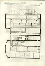 1893 Liverpool Cold Storage Ice Company Linde Diagram